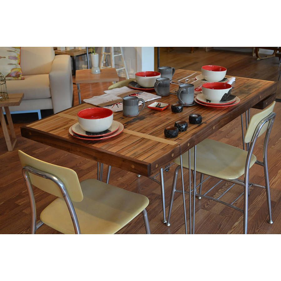 Reclaimed Extension Dining Table