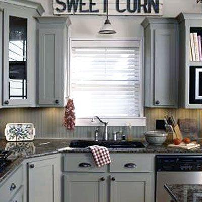 Beaded Board Kitchen Backsplash Ideas Sweet Corn Grey And