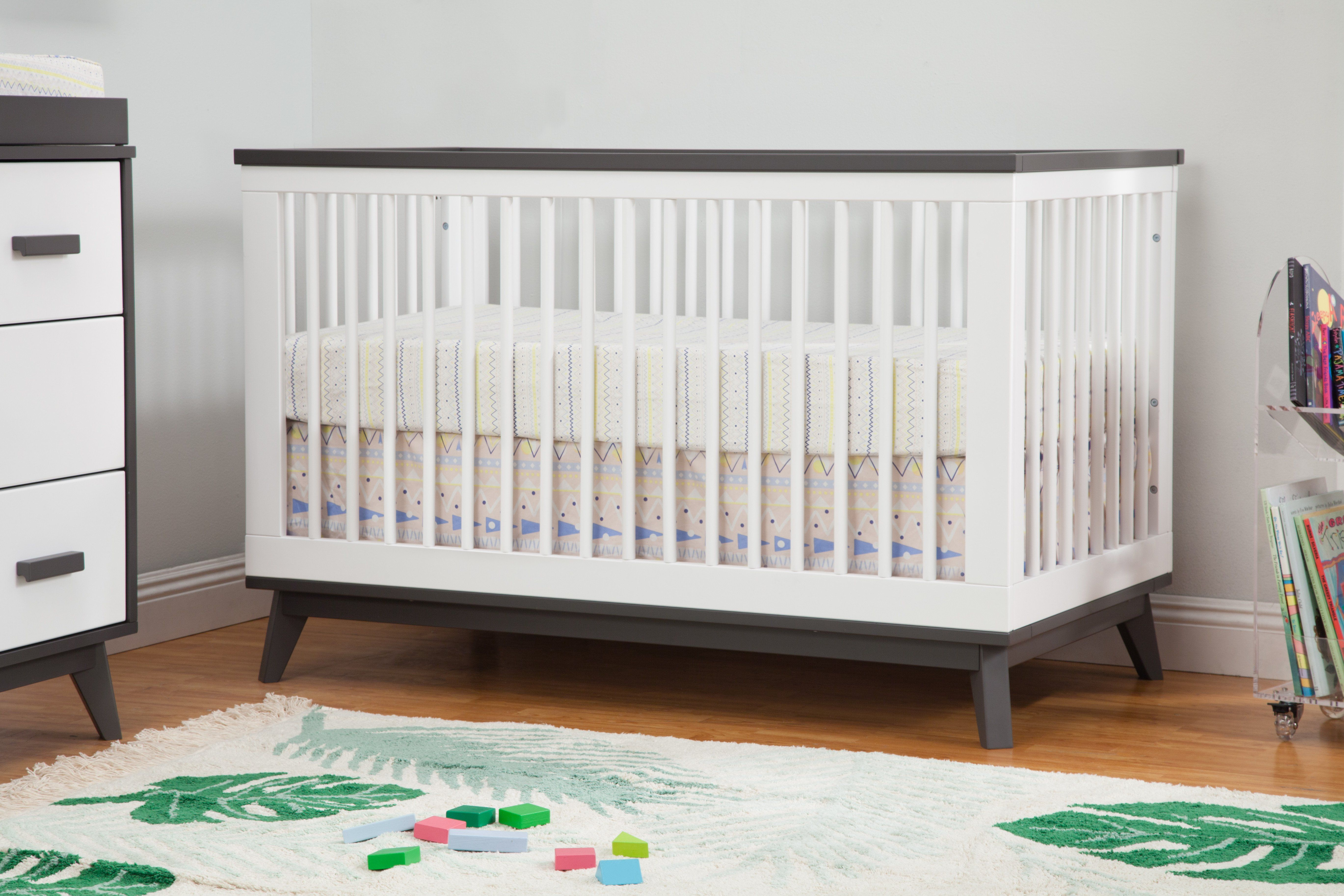 Scoot 3 In 1 Convertible Crib With Toddler Bed Conversion Kit Convertible Crib Cribs Toddler Bed