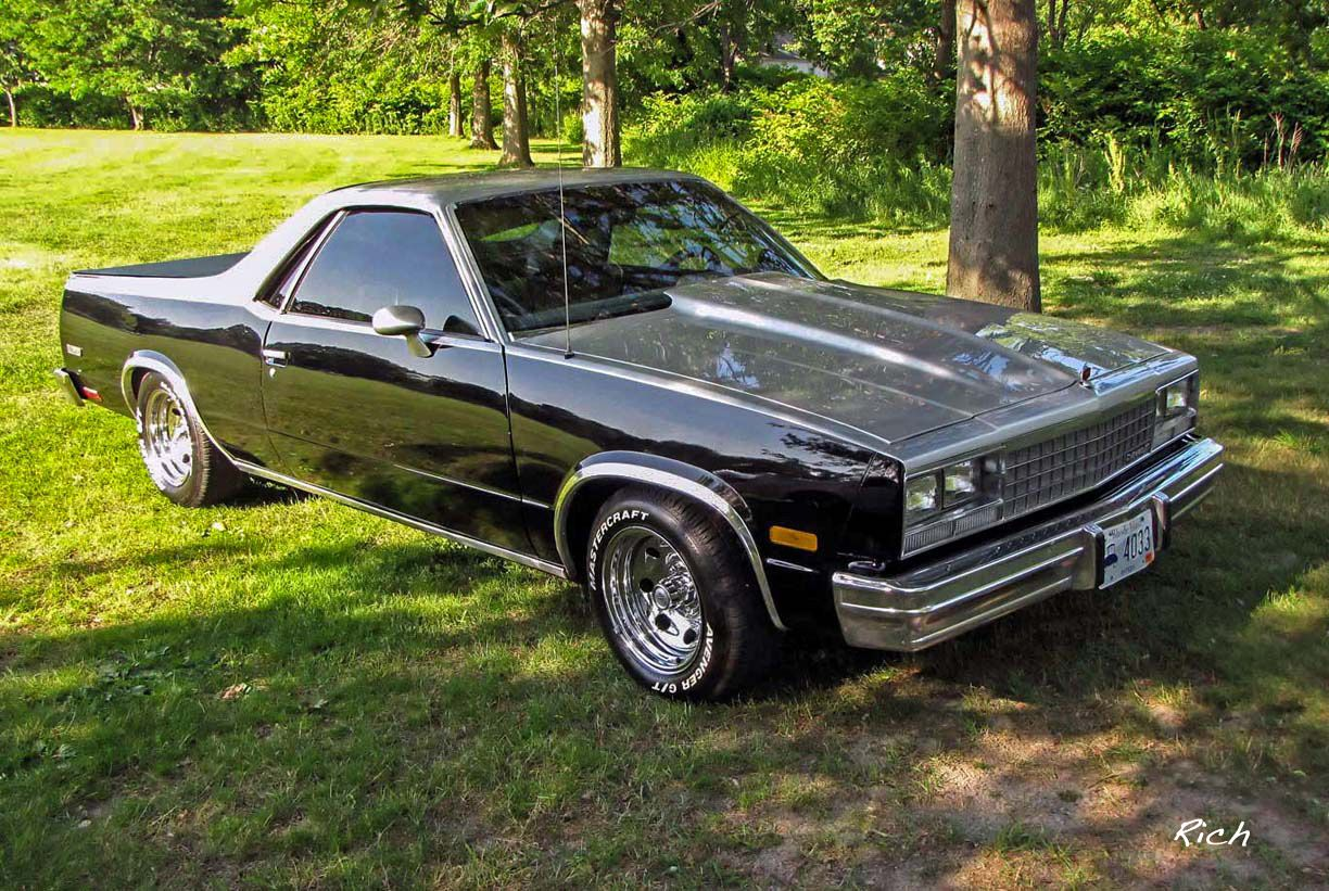 1982 Chevy El Camino Classic Cars Trucks Chevy Custom Muscle Cars Classic Cars Muscle