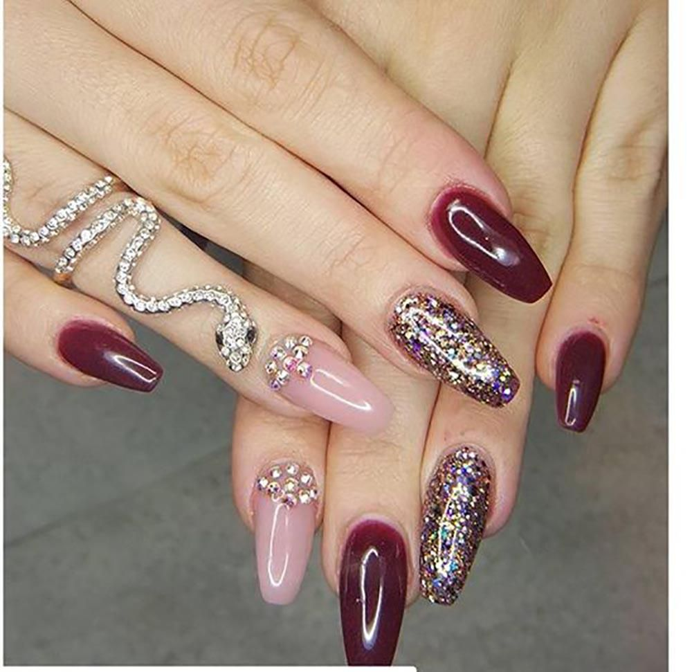 20 Worth Trying Long Stiletto Nails Designs | Long stiletto nails ...