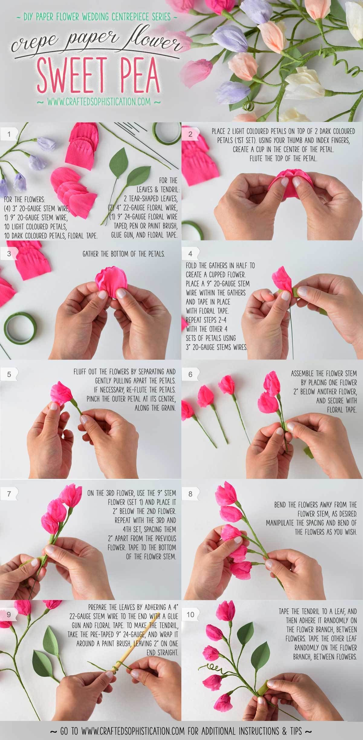 15 Of The Greatest Most Recent Flower Tutorials Online Crafty 2