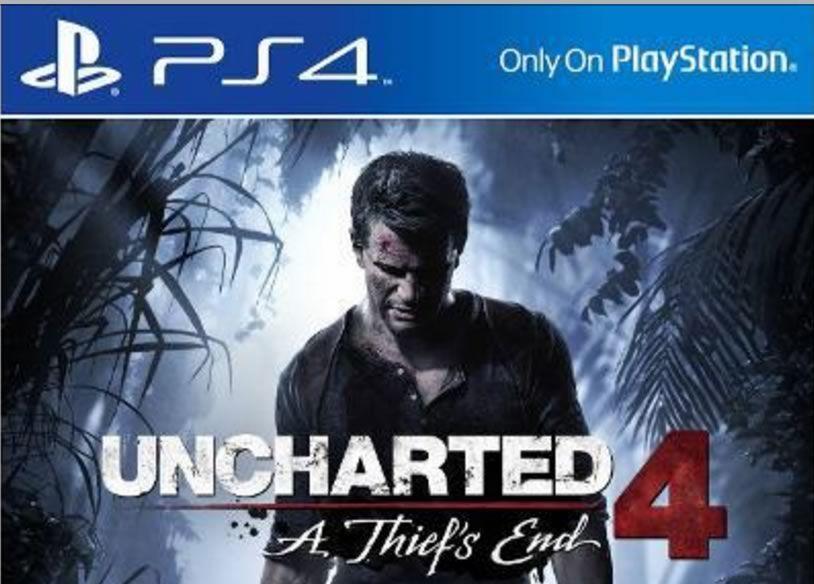 Jogo uncharted 4 preço ps4