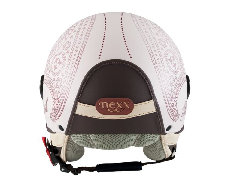 Love the look!  Rear view of Batik helmet by NEXX Helmets | Batik