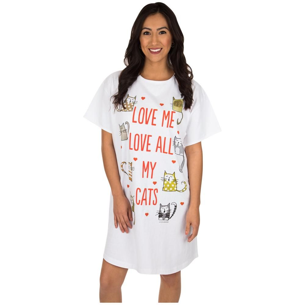 455bdebfff Love All My Cats Nightshirt  26.95