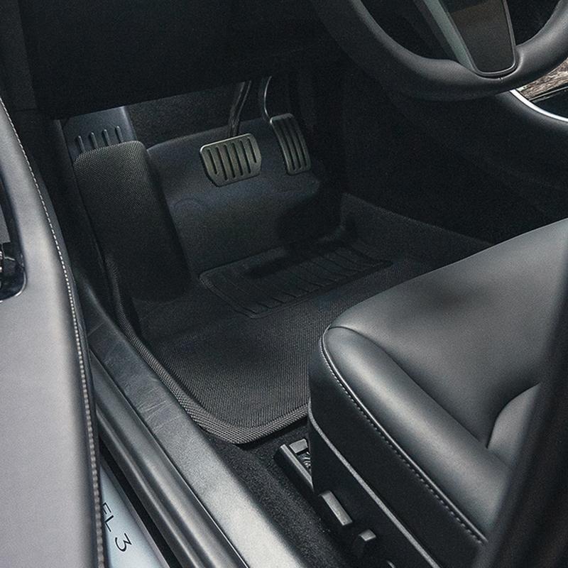 3d Maxpider All Weather Floor Mats For Tesla Model 3 2019 Taptes Tesla Model Tesla Custom Car Mats