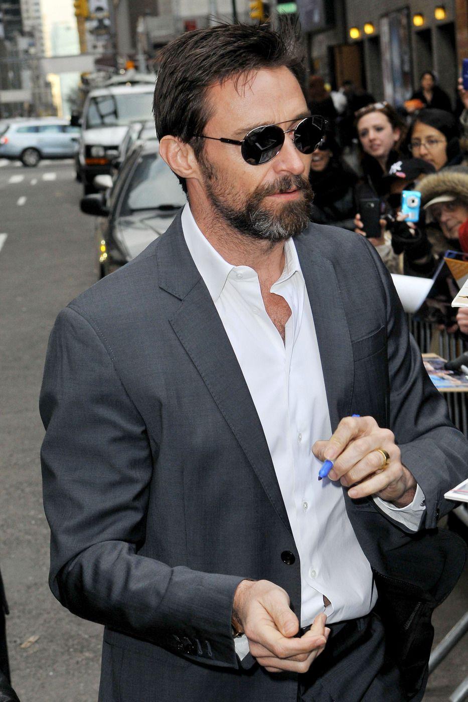Hugh Jackman Is Getting Ready For His 2013 Oscar Appearance Or Acceptance! (Photos)