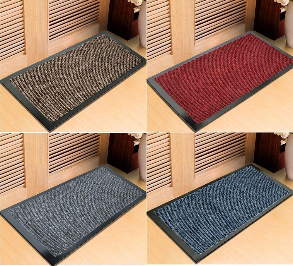 Bon New Heavy Duty Non Slip Dirt Barrier Large Small Entrance Floor Door Mats  Office