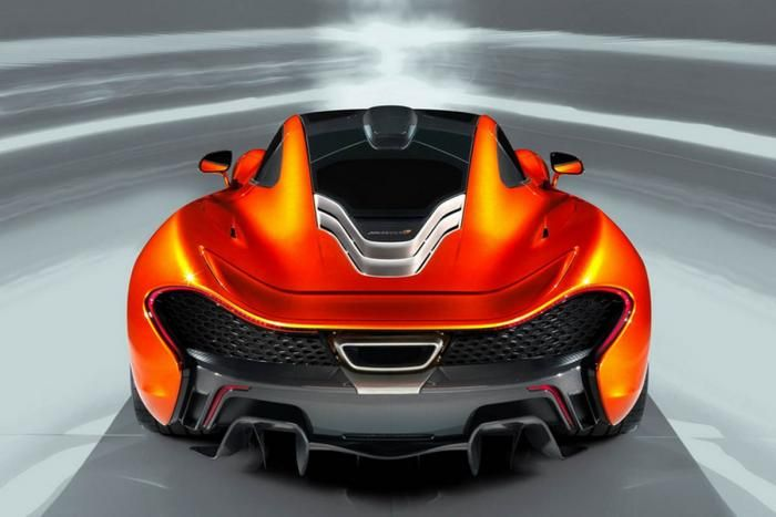 McLaren P1 Back