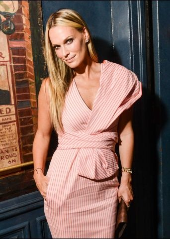 Molly Sims Max Mara event in NYC