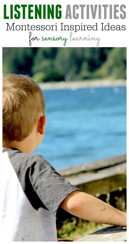 9 Amazing & Easy Listening Activities for Curious Montessori Kids ...