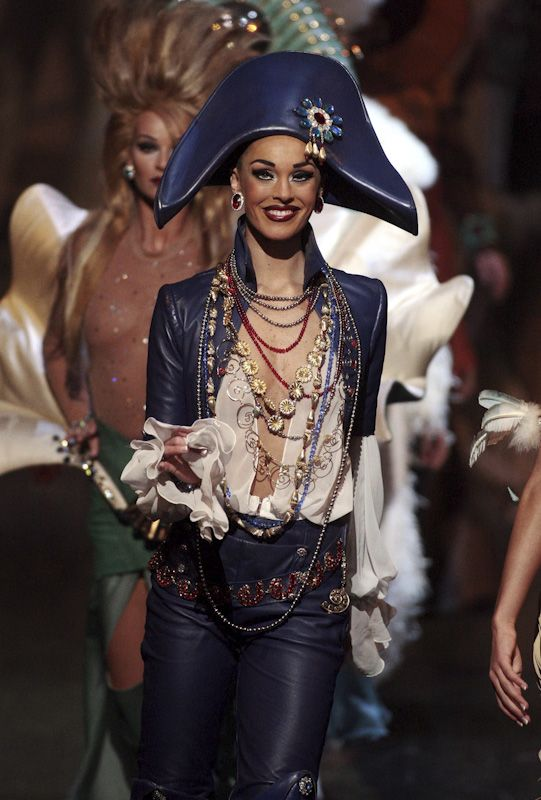 GO GLAM. Don't be a scardy-Pirate. Be bold and perhaps you will avoid having to walk the plank.