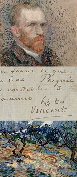 """""""Painted with Words: Vincent van Gogh's Letters to Émile Bernard"""" September 28, 2007, through January 6, 2008 at the Morgan Library in NYC"""