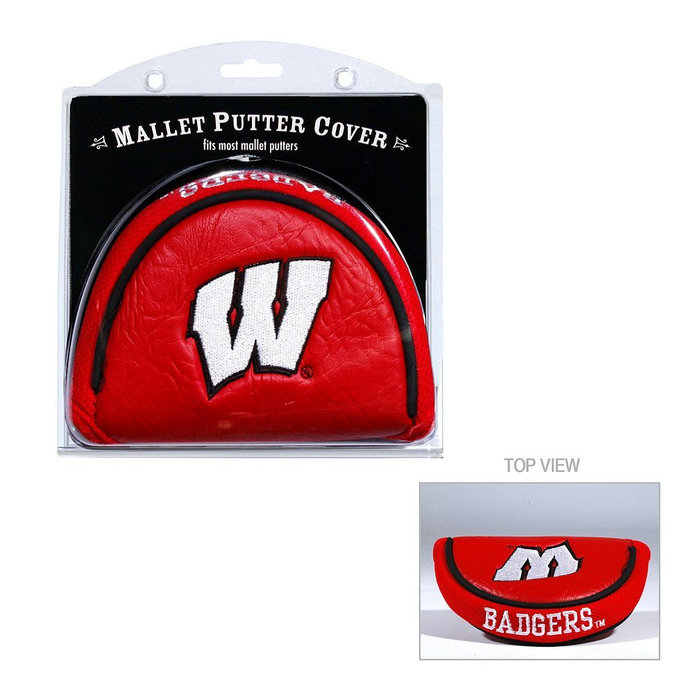 Team Golf Wisconsin Badgers Mallet Putter Cover Products