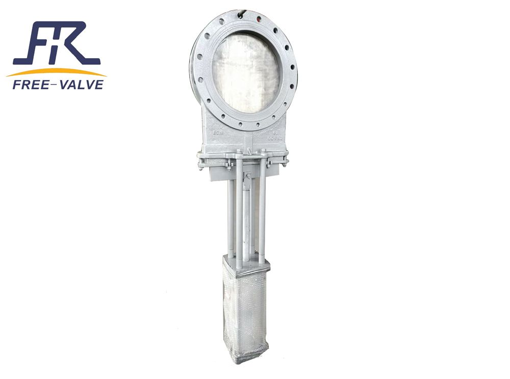 Free Valve S Pneumatic Unidirectional Knife Gate Valves Are Known As Slurry Gate Valves Its Are Unidirectional Wafer Knife Edge Gat Gate Valve Valve Zhengzhou
