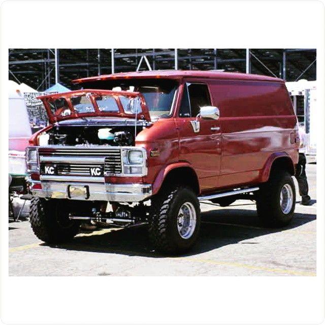 Van Chevrolet Kc >> Panelvan Vantastic Gmc Vans Chevy Van 4x4 Van