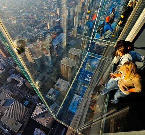 The Skydeck Willis Tower Chicago Chicago Travel Willis Tower