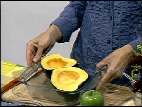Applestuffed Acorn Squash as seen on HBC TV as part of Hy