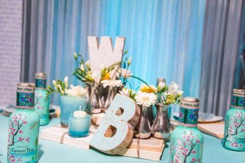 Türkisfarbene vintage Dekorationen von Blickfang Event Design - Hochzeitswahn - Sei inspiriert! Blickfang Event Design http://www.hochzeitswahn.de/hochzeitstrends/turkisfarbene-vintage-dekorationen-von-blickfang-event-design/ #wedding #tabledecor #blue