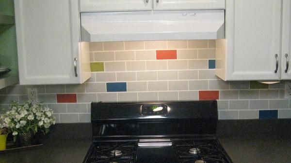 Lovely DIY Subway Tile Backsplash   Want The High End Look Of Subway Tile For Your