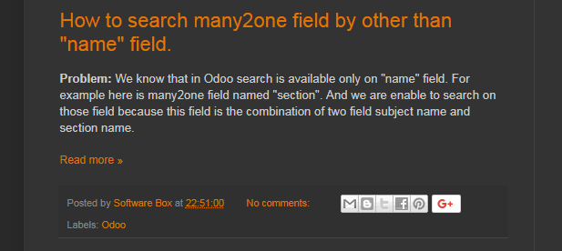 How to search many2one field by other than