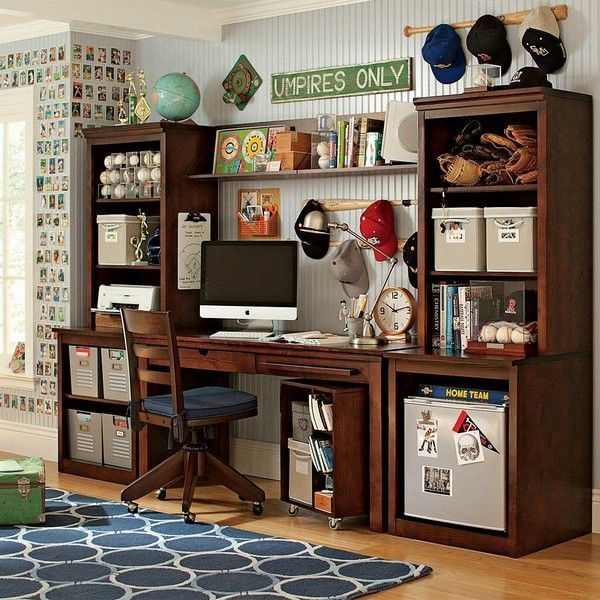 Bon Teenage Room For Boys Interior Design Ideas Desk Storage Space