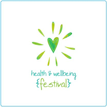 health amp wellbeing festival � logo design � graphic design