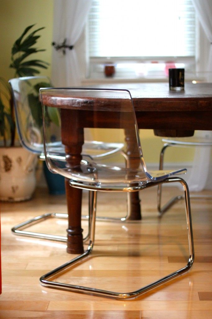 Iu0027m Really In Love With Lucite Chairs At The Moment. May Need A Couple For  My Breakfast Table.