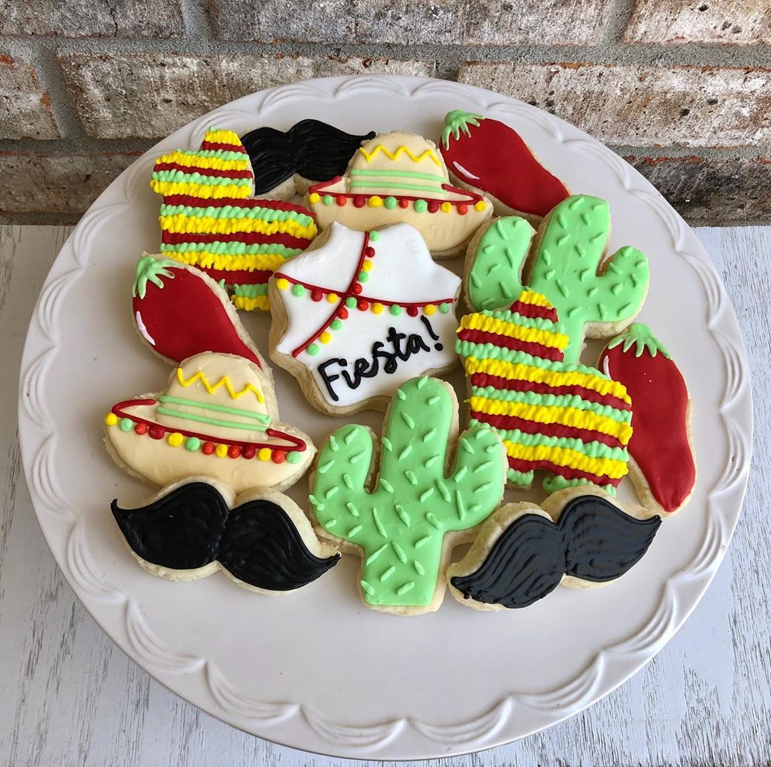 Crafted Cakes By Jt On Instagram Cinco De Mayo Cookies