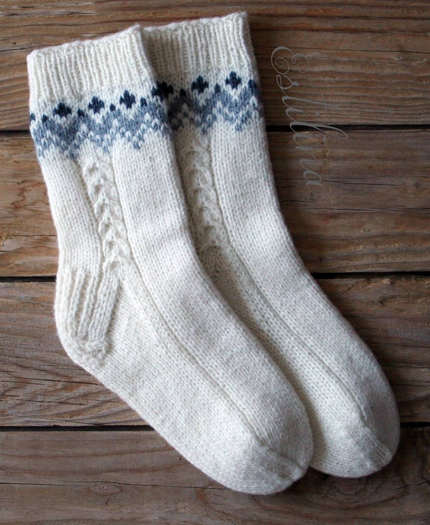 handgestrickte Socken | socks | Pinterest