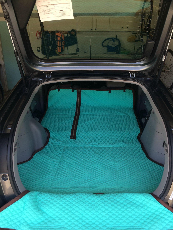 DIY Cargo Mat for Dogs | Dog car accessories, Car ...