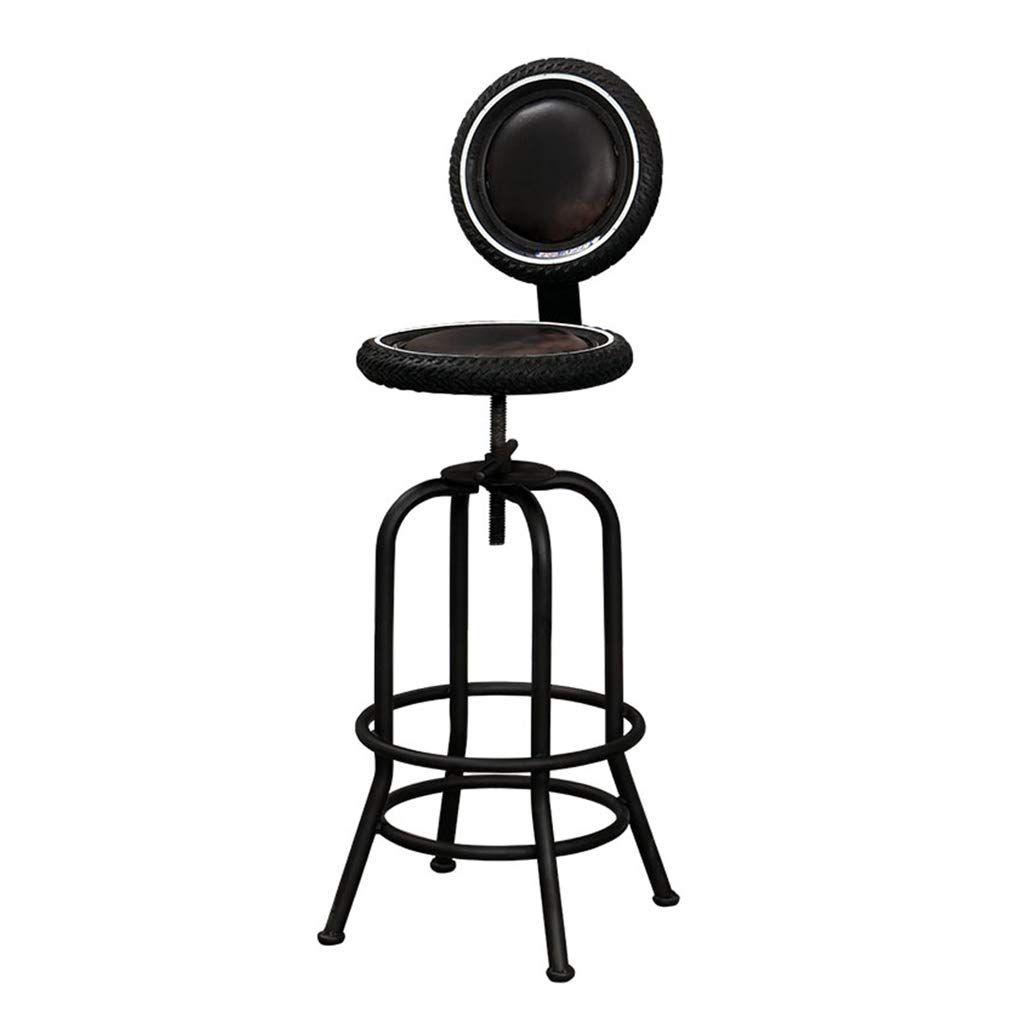 Bar Furniture Barstools Retro Bar Chair Kitchen Pub Stools Height Adjustable Breakfast Dining Chair Co Bar Stools Industrial Bar Stools Wrought Iron Bar Stools
