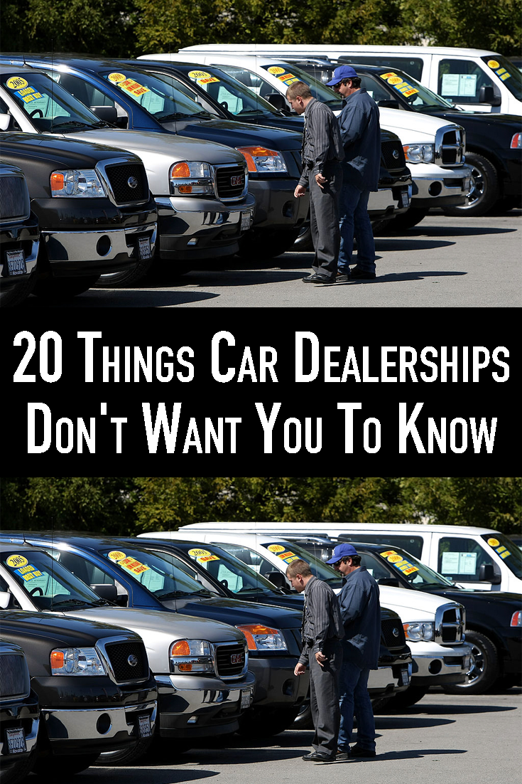 Secrets That Car Dealers Don T Want Consumers To Know In 2020 Car Dealer Car Dealership Car