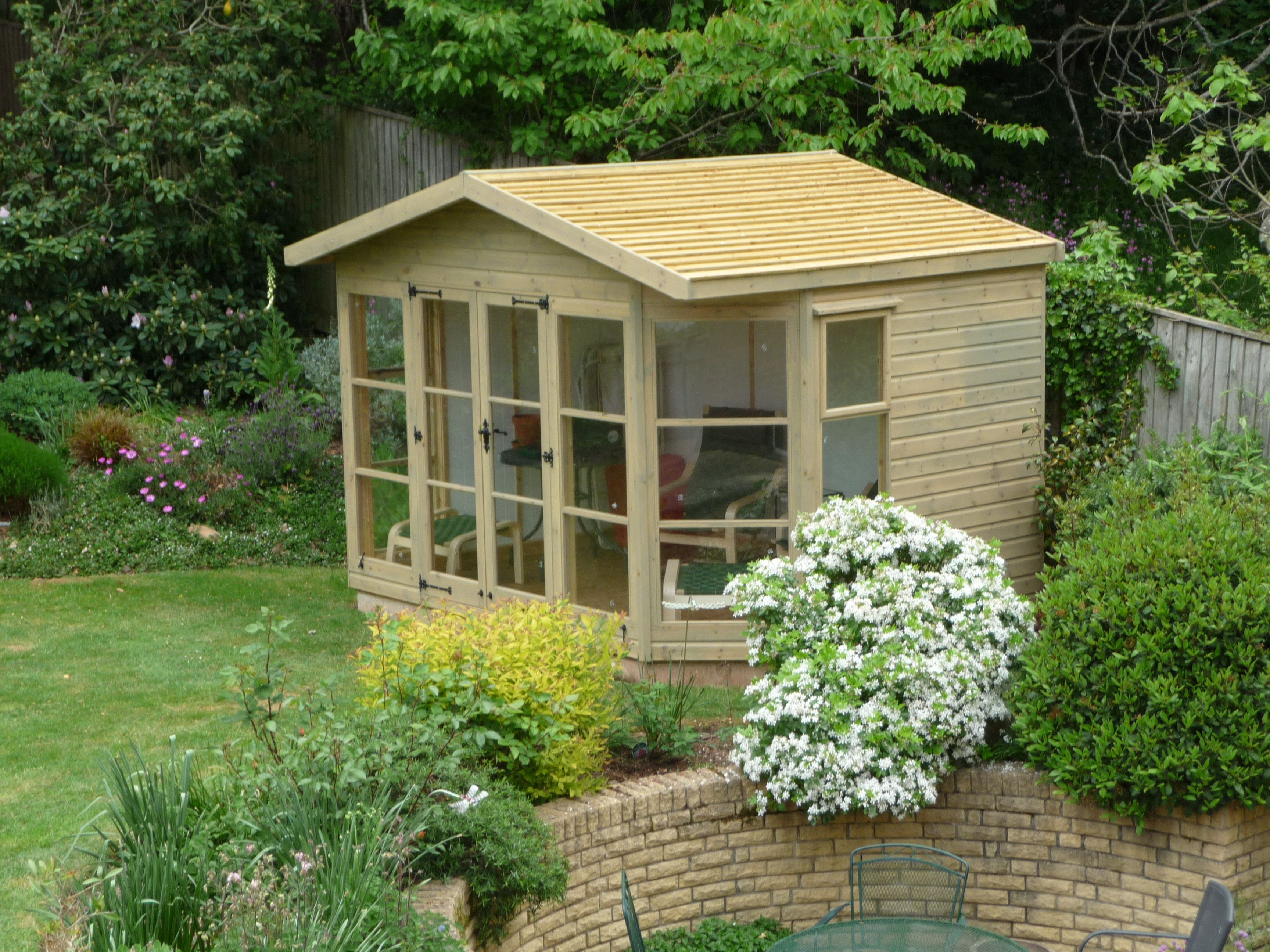 Garden Sheds | Traditional Garden Sheds Summer Houses Workshops Garages  Garden .