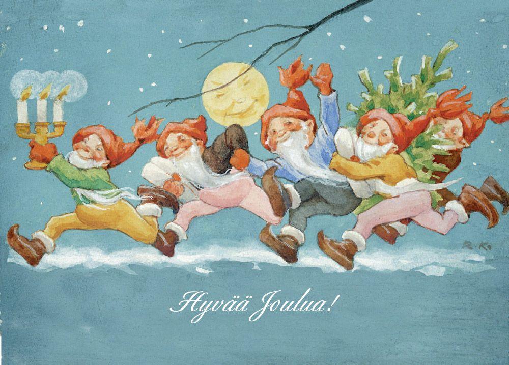 RUDOLF KOIVU - Hyvää joulua! Tonttujoukko