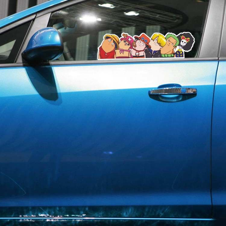 Free Shipping Skoda/Kia Car Styling Cartoon Stickers