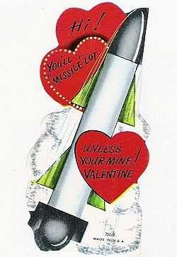 1940s Little Rocket Valentine Card 10 50 Vintage Collectibles