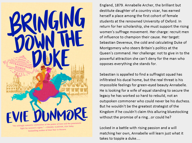 Book Review Bringing Down The Duke By Evie Dunmore Bring It On Book Blog Historical Romance