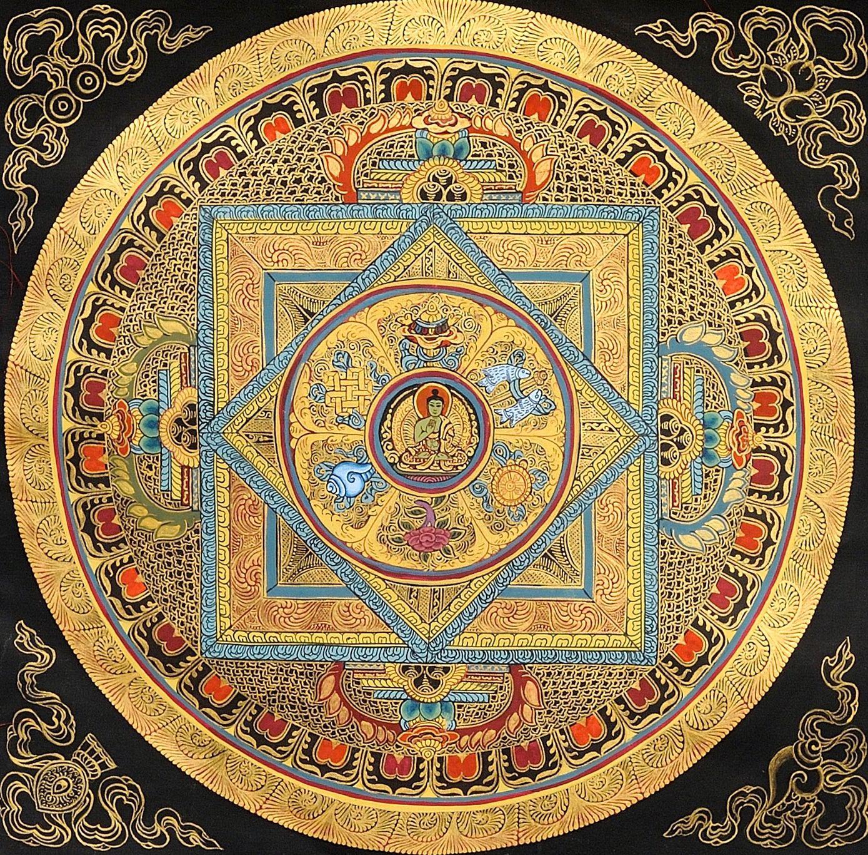 pure beauty | Mandala in 2019 | Tibetan mandala, Mandala