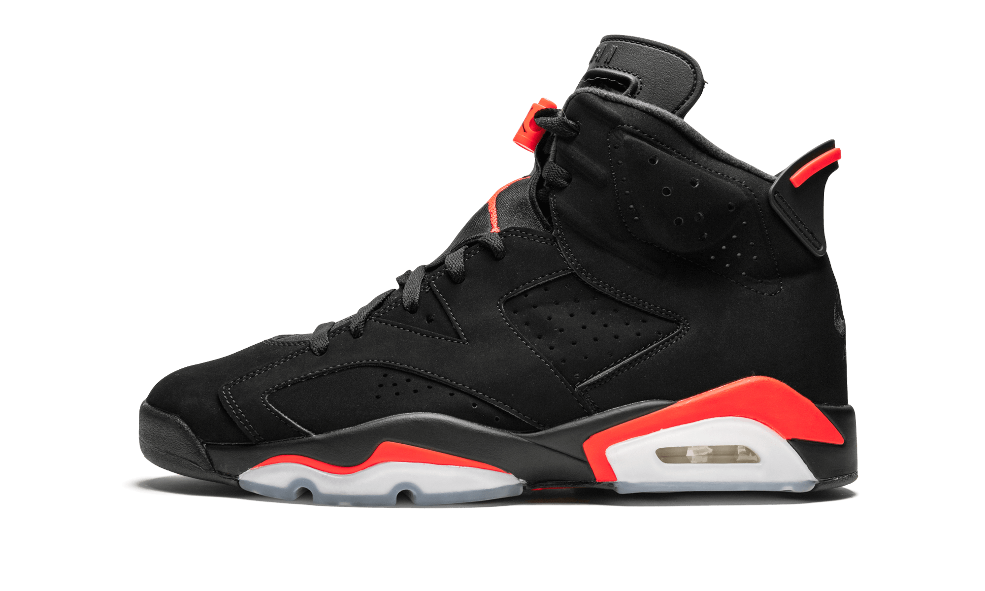 "5eea0621bbf The Air Jordan 6 ""Black Infrared 2019"" is the 2019 release of this ..."