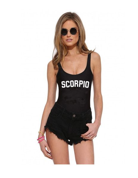 bb624313af607 scorpio one piece swimsuit | Inspirations | Swimsuits, One piece ...
