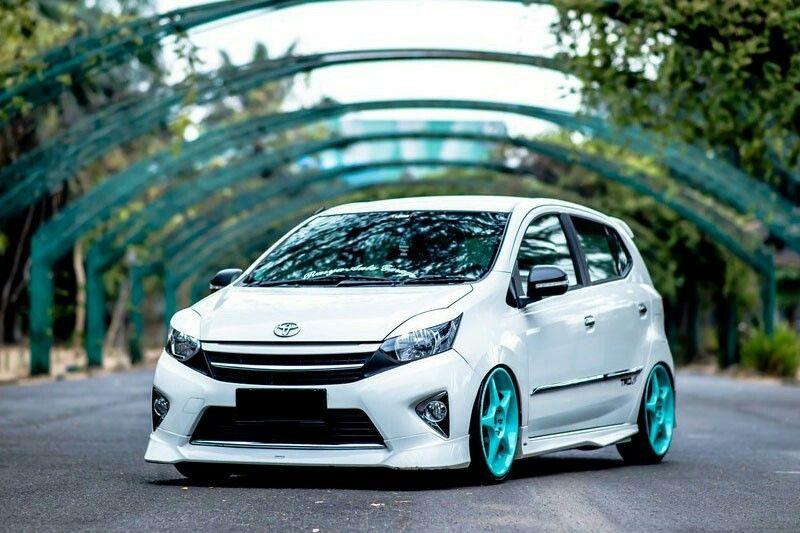 Toyota Agya 2017 Dengan Gambar Modifikasi Mobil Mobil Toyota