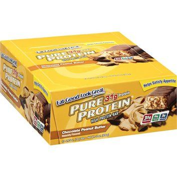 I'm learning all about Generic Pure Protein Chocolate Peanut Butter High Protein Bars at @Influenster!