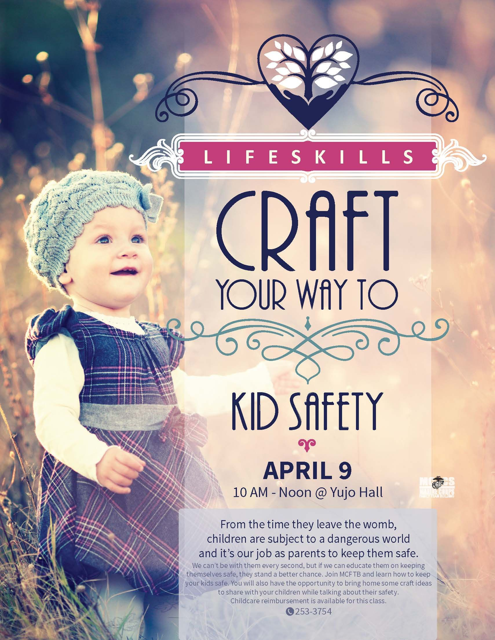 Craft Your Way to: Kid Safety | MCCS Iwakuni Events