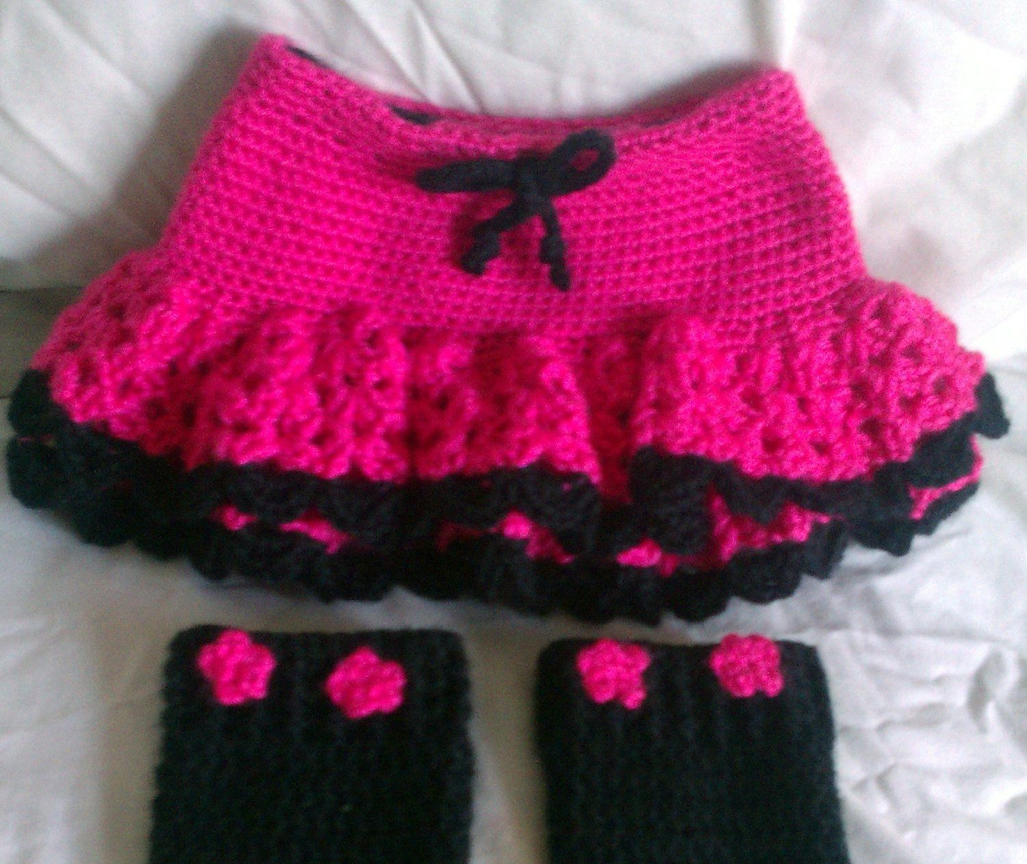 This is the skirtie wool diaper cover I had custom made for Ellianna ...