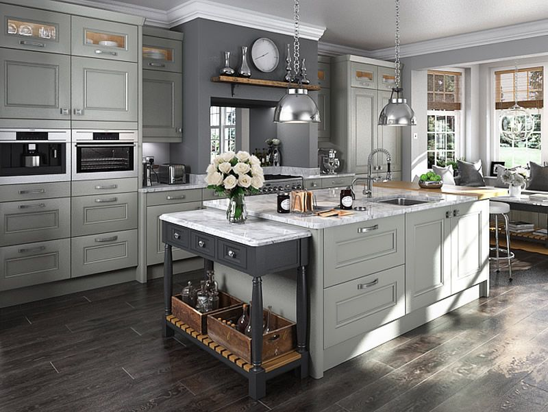 Grey Kitchen buy bedale lamp room grey kitchen doors at trade prices - diy