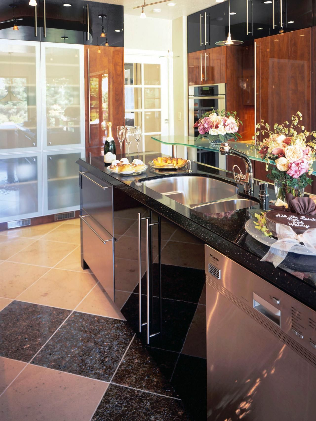 Charming Installing Glass Panels In Cabinet Doors