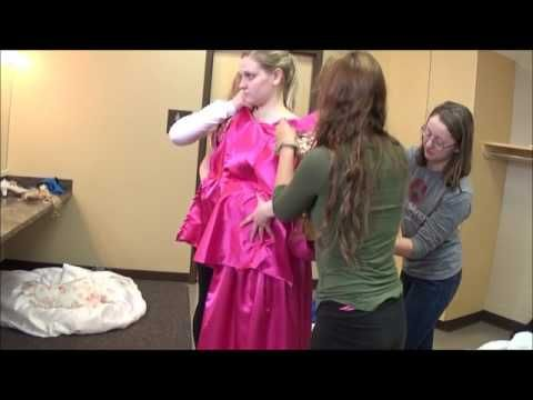 "(2) ""Cinderella"" (Broadway Version): Ella Act II Transformation Costumes Explained - YouTube"