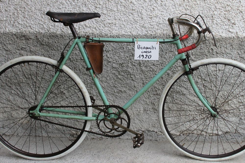 Bianchi Corsa 1920 Vintage Racing Bicicleta Eroica Bicycle Sporting Goods Cycling Bikes Ebay Vintage Racing Bike Bicycle Racing Bikes