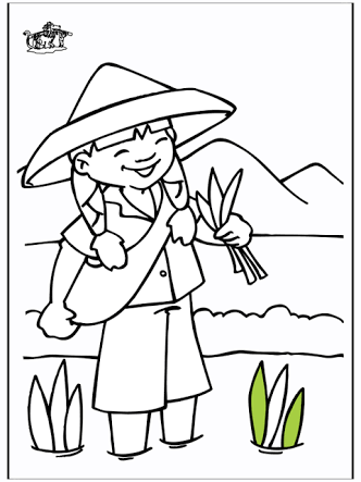 indonesian coloring pages - photo#4